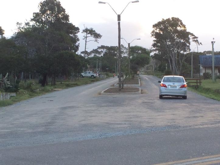 entrada a barrio parque