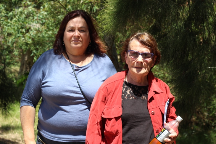 Rina Sabatini y Selva Lopez