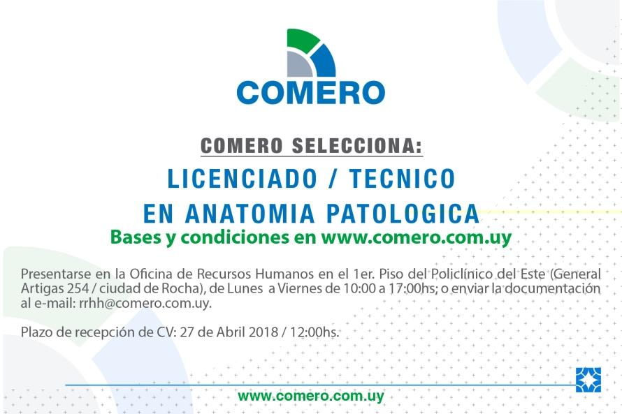 licenciado tecnico en anatomia patologica rocha abril