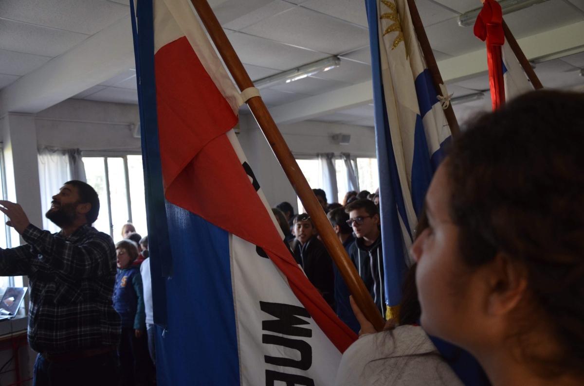 Fotos: Acto de 19 de Junio en el Liceo Cabo de Santa María