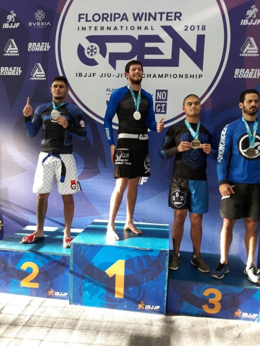El rochense Rodrigo Izaguirre campeón en Floripa Winter Open 2018 IBJJF Jiu Jitsu Championship