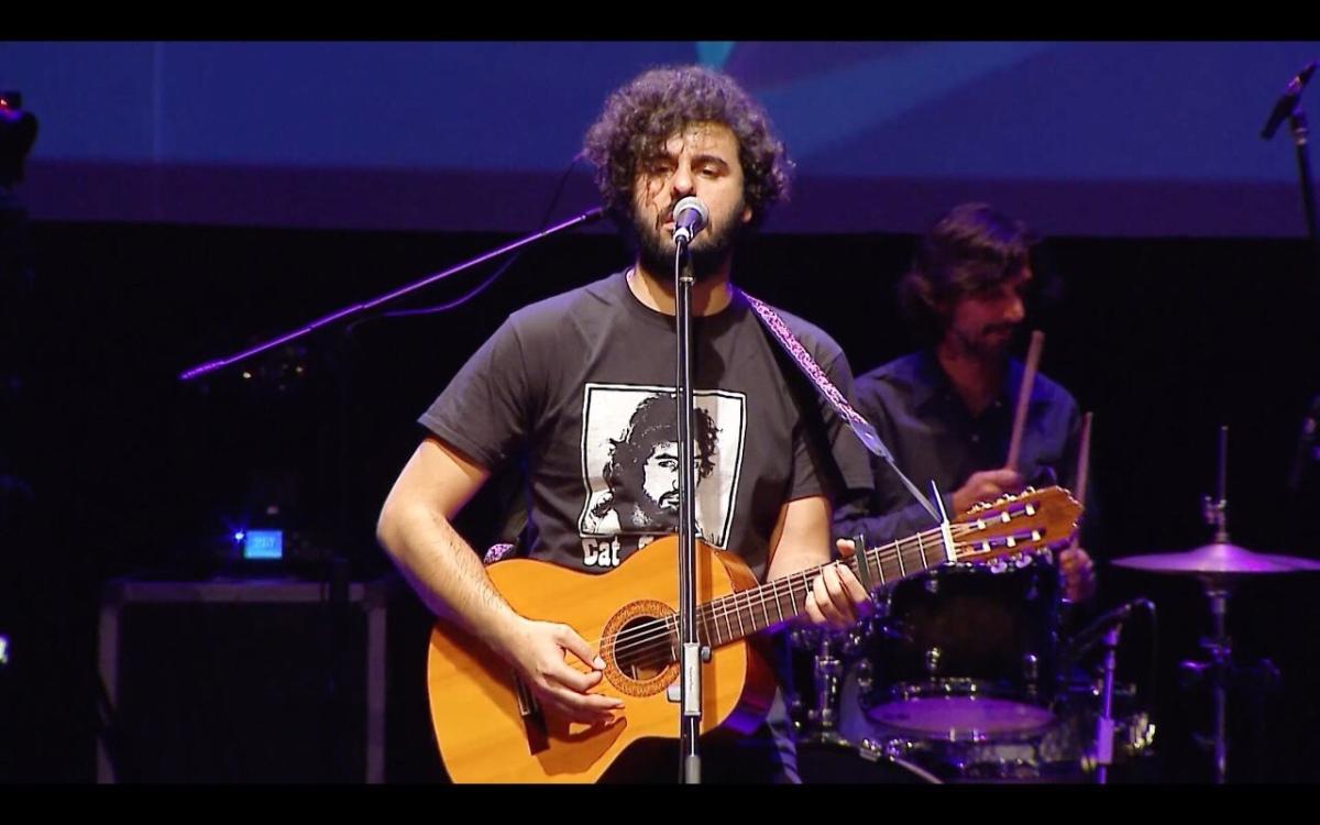 Andrés Calamaro elogió al rochense Nicolás Molina