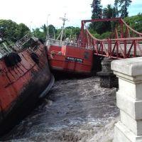 """El destino final del """"Black Hunter"""": Reconocido barco que trabajó en el Puerto de La Paloma"""